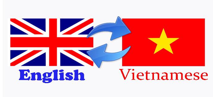 Dịch thuật tiếng anh sang tiếng Việt giá rẻ