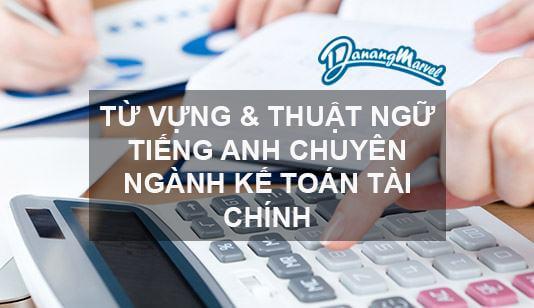Dịch tiếng anh chuyên ngành kế toán online