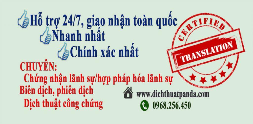 Dịch thuật tiếng Đài Loan sang tiếng Việt