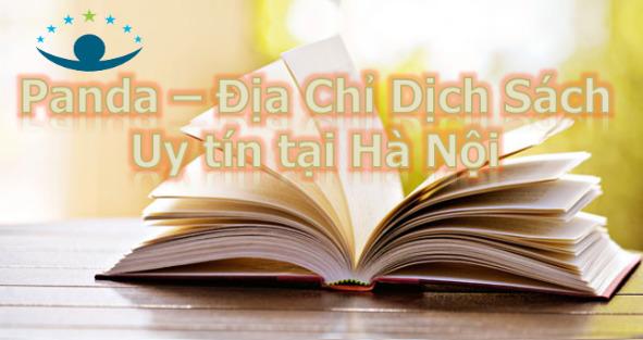 Dịch vụ dịch sách
