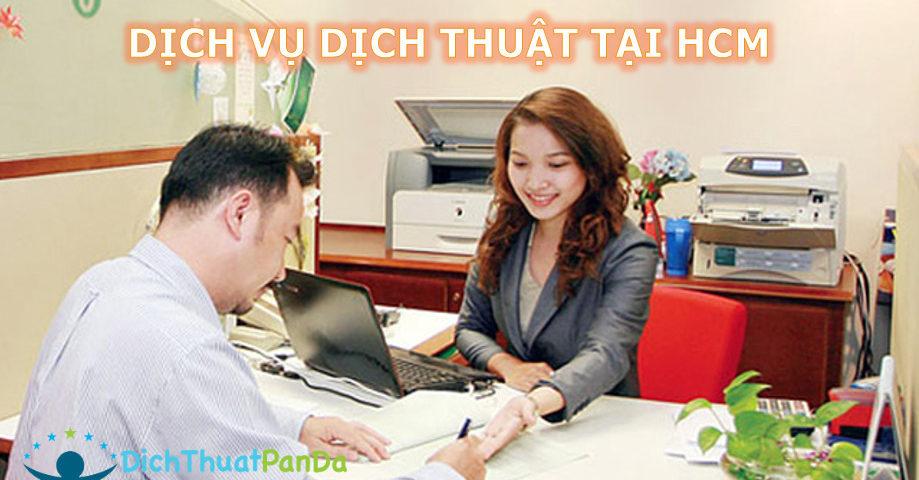 Dịch thuật tại HCM