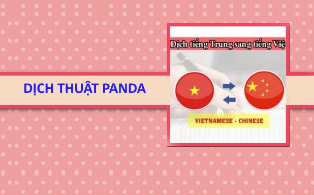 Dịch thuật tiếng Trung Hà Nội
