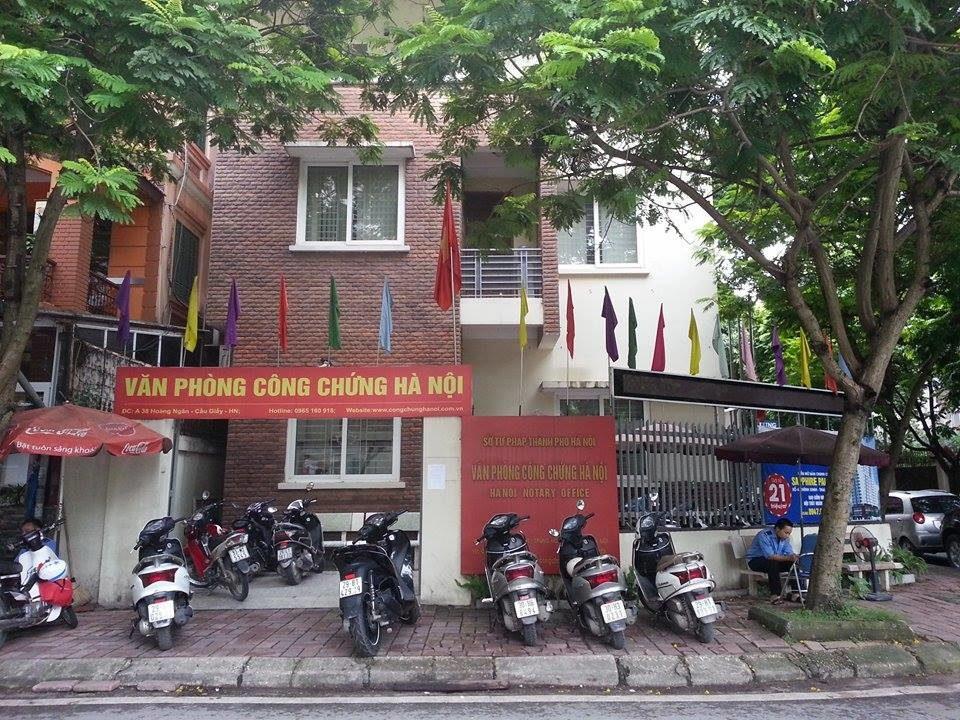 Văn Phòng Côn chứng Hà Nội